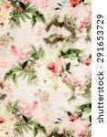 romantic vintage flower...   Shutterstock . vector #291653729