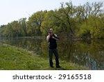 fishing | Shutterstock . vector #29165518