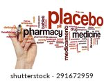 placebo word cloud concept | Shutterstock . vector #291672959