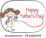 happy fathers day | Shutterstock .eps vector #291684449
