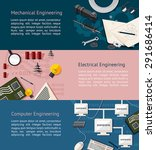 mechanical  electrical  and... | Shutterstock .eps vector #291686414