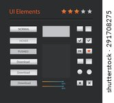 user interface elements ...