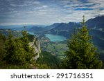 view of lake annecy in the... | Shutterstock . vector #291716351