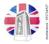 Illustration Of Red London...