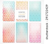 set of six colorful banners...   Shutterstock .eps vector #291722429