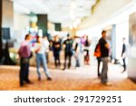 abstract blurred people in... | Shutterstock . vector #291729251