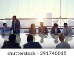 business people meeting...   Shutterstock . vector #291740015