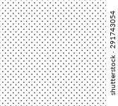 simple small dot pattern ... | Shutterstock .eps vector #291743054