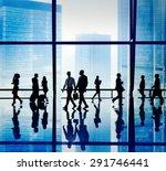 business people communication...   Shutterstock . vector #291746441