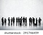 business people conference... | Shutterstock . vector #291746459