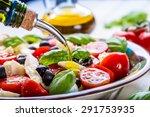 caprese italian or... | Shutterstock . vector #291753935