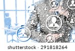 protect social connection... | Shutterstock . vector #291818264