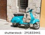 gubbio  italy  may 13  bright... | Shutterstock . vector #291833441