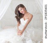 Beautiful Bride In Wedding...