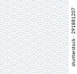 seamless circle pattern | Shutterstock . vector #291881207