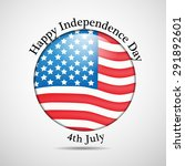 u.s.a independence day... | Shutterstock .eps vector #291892601