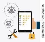 customer digital design  vector ... | Shutterstock .eps vector #291903845