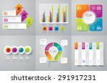 infographic design template can ... | Shutterstock .eps vector #291917231