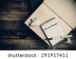 are you ready written on the... | Shutterstock . vector #291917411