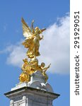 The Gilded Winged Victory At...