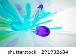 abstract glass interior | Shutterstock . vector #291932684
