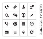 company icons universal set for ... | Shutterstock . vector #291947195