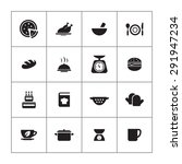 cooking icons universal set for ...   Shutterstock . vector #291947234