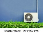 air compressor installation on... | Shutterstock . vector #291959195