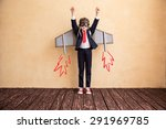 portrait of young businessman... | Shutterstock . vector #291969785