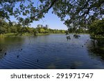 city park at vachirabenjatas... | Shutterstock . vector #291971747