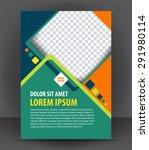 magazine  flyer  brochure ... | Shutterstock .eps vector #291980114
