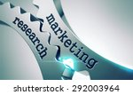 marketing research on the... | Shutterstock . vector #292003964