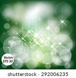 green festive christmas elegant ... | Shutterstock .eps vector #292006235