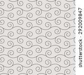 seamless pattern in arabic... | Shutterstock .eps vector #292009847