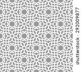 seamless pattern in arabic... | Shutterstock .eps vector #292009877