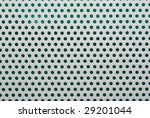 perforated white metal close-up - stock photo