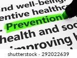 preventive healthcare concept... | Shutterstock . vector #292022639