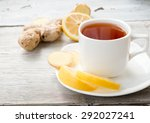 Black Tea With Ginger And A...
