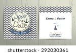 Nautical Wedding Save The Date...