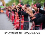 thai dance perform | Shutterstock . vector #292033721
