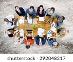 business people conference... | Shutterstock . vector #292048217