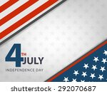 independence day american... | Shutterstock .eps vector #292070687
