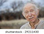 portrait of a handsome senior... | Shutterstock . vector #29211430