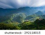 sapa view point  lao cai ... | Shutterstock . vector #292118015