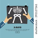 x rays  vector illustration | Shutterstock .eps vector #292127261