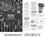 Restaurant Cafe Menu  Template...