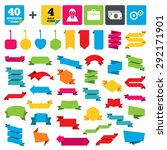 web stickers  banners and...   Shutterstock .eps vector #292171901