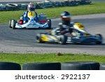 go kart racing on circuit | Shutterstock . vector #2922137
