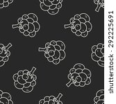 plant doodle seamless pattern... | Shutterstock . vector #292225691