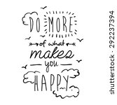 encourage quotes design  over... | Shutterstock .eps vector #292237394
